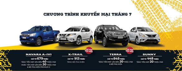 Chương trình ưu đãi dành cho khách hàng mua xe Nissan trong tháng 07/2020 - Ảnh 1.