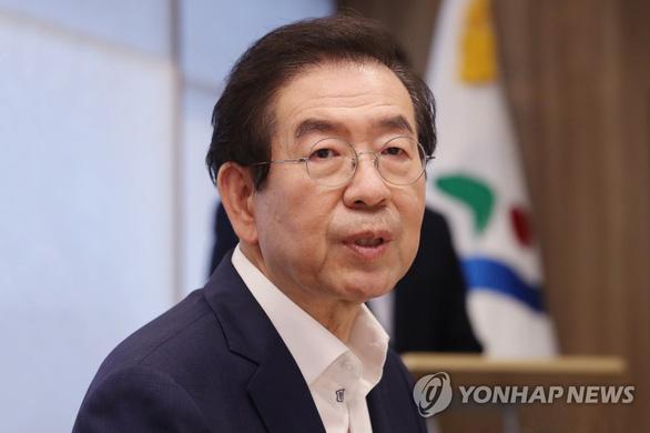 Thị trưởng Seoul mất tích nghi liên quan cáo buộc quấy rối tình dục - Ảnh 1.