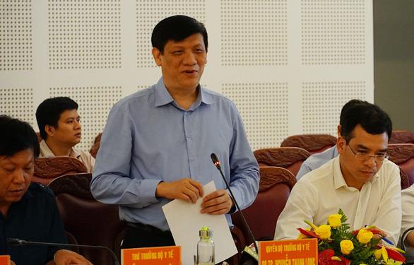 Quyền Bộ trưởng Bộ Y tế làm việc với 7 tỉnh để ngăn dịch bạch hầu - Ảnh 1.