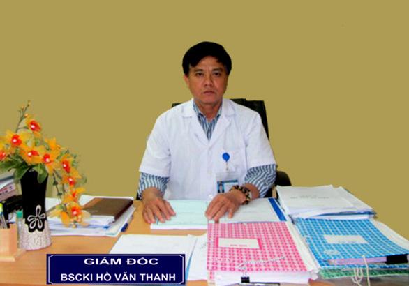Cách hết chức vụ Đảng của giám đốc Bệnh viện Sản nhi Phú Yên - Ảnh 1.