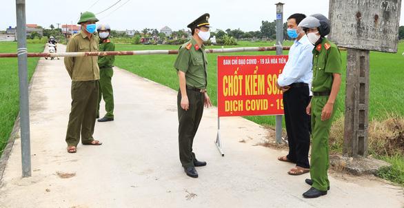 Đang dịch, lãnh đạo Thái Bình đi công tác và hủy chuyến khi tỉnh nhà có ca COVID-19 - Ảnh 2.