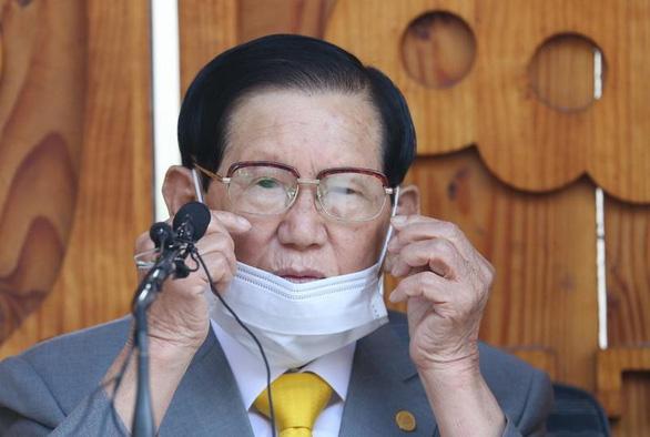 Hàn Quốc bắt giữ người sáng lập giáo phái Tân Thiên Địa - Ảnh 1.