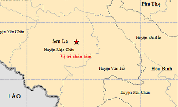 Sơn La lại động đất lần thứ 20 trong 6 ngày - Ảnh 1.
