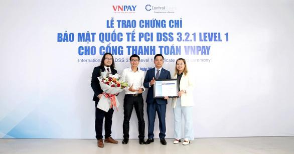 Cổng thanh toán VNPAY tăng cường bảo mật mức độ quốc tế - Ảnh 1.