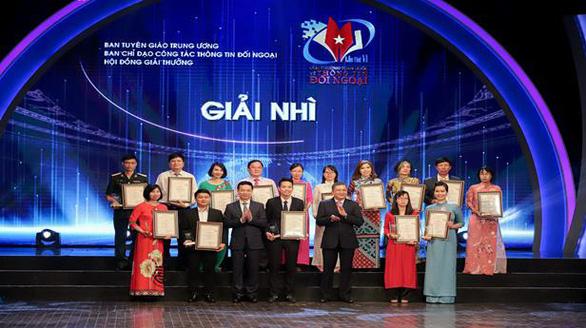 Trao Giải thưởng toàn quốc về thông tin đối ngoại lần thứ VI - Ảnh 1.
