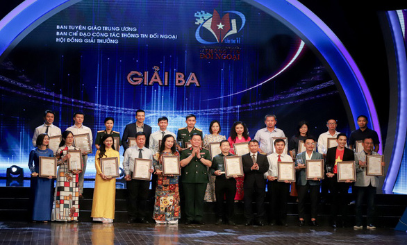 Trao Giải thưởng toàn quốc về thông tin đối ngoại lần thứ VI - Ảnh 2.