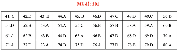 Đề và bài giải môn hóa kỳ thi tốt nghiệp THPT 2020 - Ảnh 5.