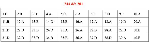 Đề và bài giải môn vật lý kỳ thi tốt nghiệp THPT 2020 - Ảnh 5.