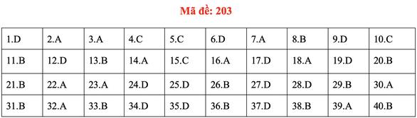 Đề và bài giải môn vật lý kỳ thi tốt nghiệp THPT 2020 - Ảnh 7.