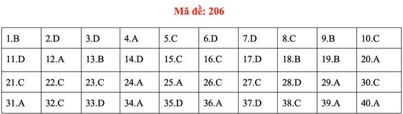 Đề và bài giải môn vật lý kỳ thi tốt nghiệp THPT 2020 - Ảnh 10.