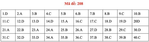 Đề và bài giải môn vật lý kỳ thi tốt nghiệp THPT 2020 - Ảnh 11.