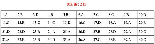 Đề và bài giải môn vật lý kỳ thi tốt nghiệp THPT 2020 - Ảnh 15.