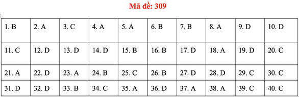 Đề và bài giải môn lịch sử kỳ thi tốt nghiệp THPT 2020 - đủ 24 mã đề - Ảnh 13.