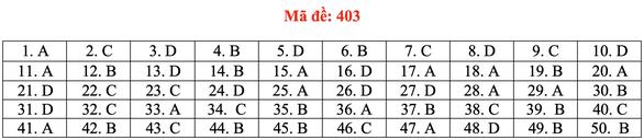 Đề và bài giải tiếng Anh kỳ thi tốt nghiệp THPT 2020 - đủ 24 mã đề - Ảnh 8.