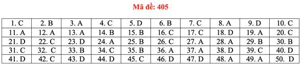 Đề và bài giải tiếng Anh kỳ thi tốt nghiệp THPT 2020 - đủ 24 mã đề - Ảnh 10.