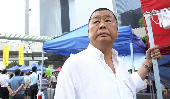 Trùm truyền thông Hong Kong Jimmy Lai bị bắt theo luật an ninh mới - Ảnh 1.