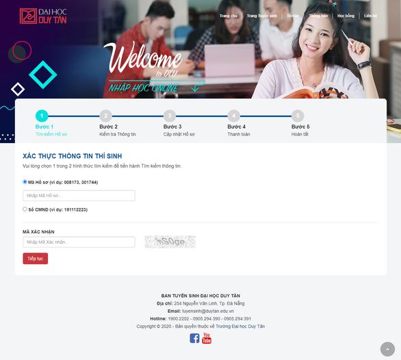 Ra mắt tiện ích nhập học Online cùng nhiều voucher học bổng có giá trị - Ảnh 4.
