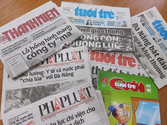 Lộ trình sắp xếp các cơ quan báo chí trực thuộc Thành ủy, UBND TP.HCM - Ảnh 1.