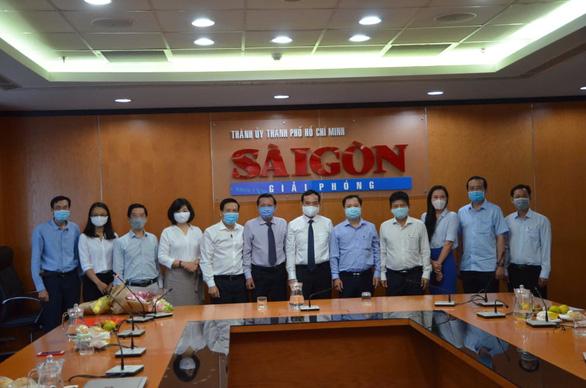 Tổng biên tập báo Sài Gòn Giải Phóng được điều động về UBND TP.HCM - Ảnh 1.