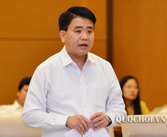 Chủ tịch Hà Nội Nguyễn Đức Chung bị tạm đình chỉ công tác - Ảnh 1.