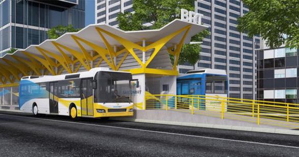 TP.HCM kiến nghị lùi dự án xe buýt nhanh BRT thêm 3 năm - Ảnh 1.