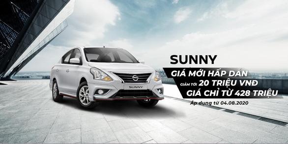 Công bố mức giá mới cho Nissan Sunny và ưu đãi tháng 8 cho các dòng xe Nissan - Ảnh 1.