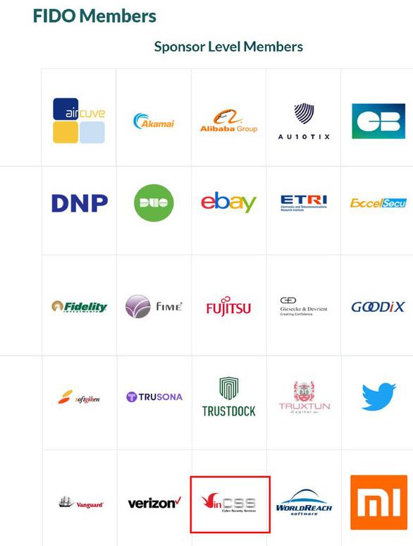 Vingroup gia nhập liên minh xác thực trực tuyến thế giới Fido Alliance - Ảnh 1.