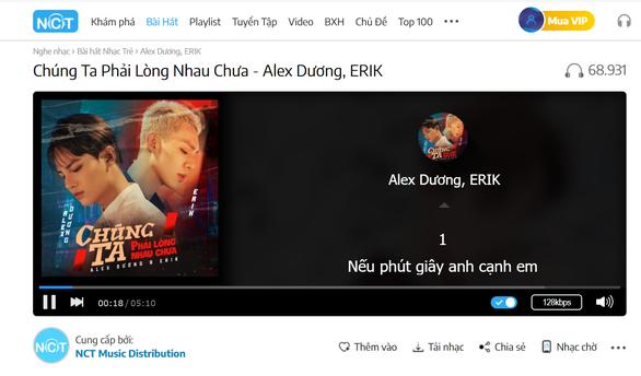 Alex Dương tỏ tình Chúng ta phải lòng nhau chưa cùng Erik - Ảnh 1.