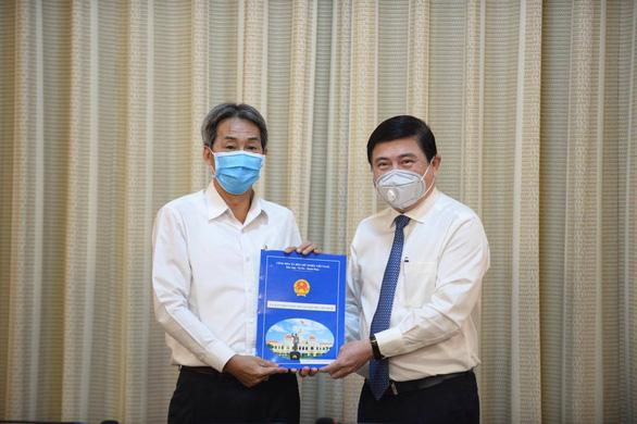 Ông Bùi Tá Hoàng Vũ làm giám đốc Sở Công thương TP.HCM - Ảnh 3.
