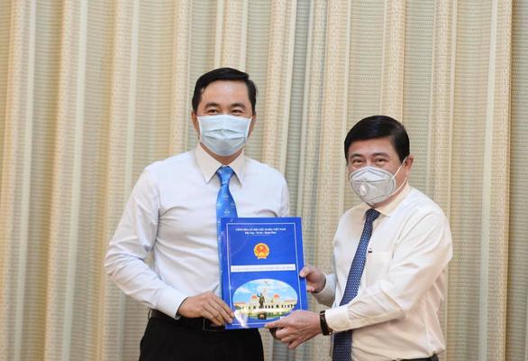 Ông Bùi Tá Hoàng Vũ làm giám đốc Sở Công thương TP.HCM - Ảnh 1.