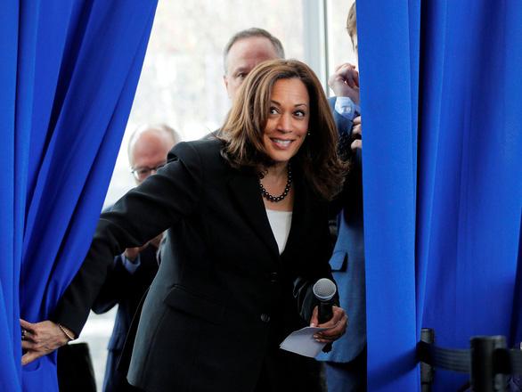 Nữ nghị sĩ da màu trở thành ứng viên phó tổng thống Mỹ là ai? - Ảnh 1.