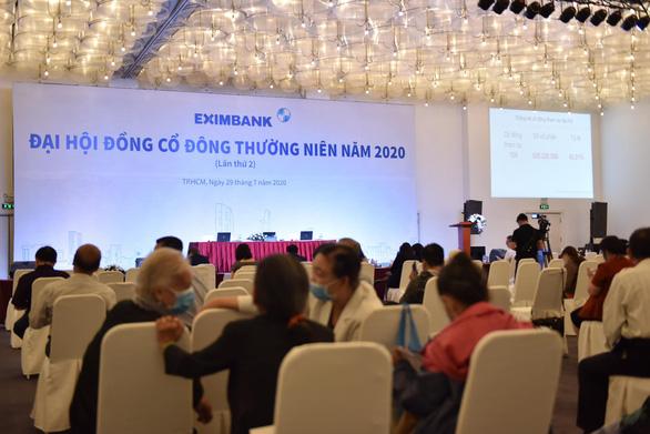 Sau nhiều lần hoãn liên tục, Eximbank tổ chức gộp đại hội cổ đông năm 2020 và 2021 - Ảnh 1.