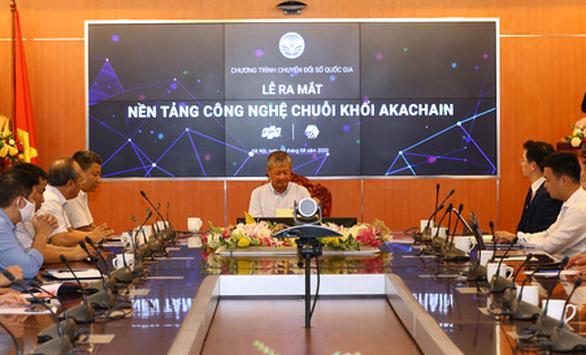 Bộ Thông tin và truyền thông ra mắt nền tảng số Make in Vietnam - akaChain - Ảnh 1.