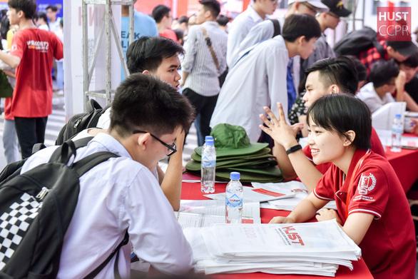 Hơn 5.600 thí sinh dự kiểm tra tư duy của Trường đại học Bách khoa Hà Nội - Ảnh 1.