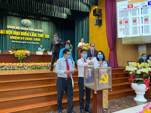 Ông Phạm Hồng Sơn tái đắc cử Bí thư Quận ủy quận Phú Nhuận - Ảnh 2.