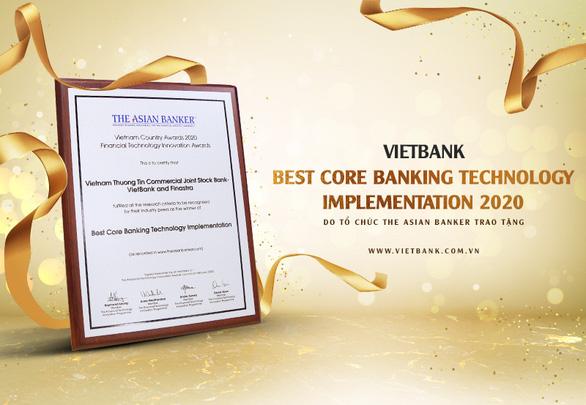 Vietbank được The Asian Vietnam Awards vinh danh giải thưởng công nghệ NH lõi tốt nhất năm 2020 - Ảnh 1.