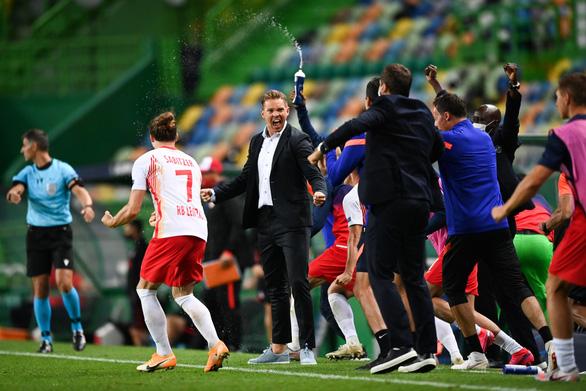 HLV Leipzig Julian Nagelsmann: Chúng tôi sẽ uống bia rồi mới nghĩ về PSG - Ảnh 1.