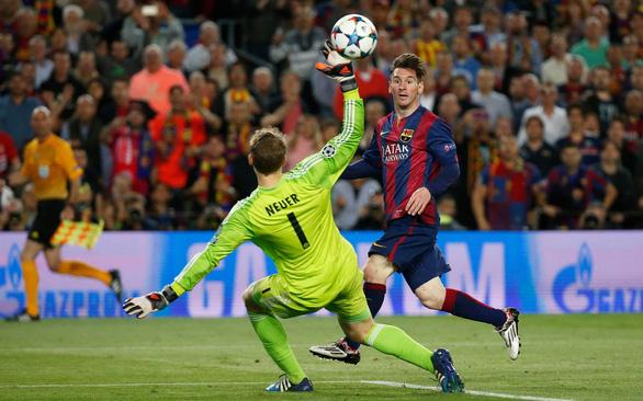 Tứ kết Champions League: Hùm xám đối đầu ngọn núi Messi - Ảnh 1.