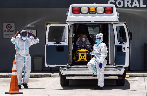 Mỹ ghi nhận số người chết vì COVID-19 cao nhất trong 2 tuần - Ảnh 1.