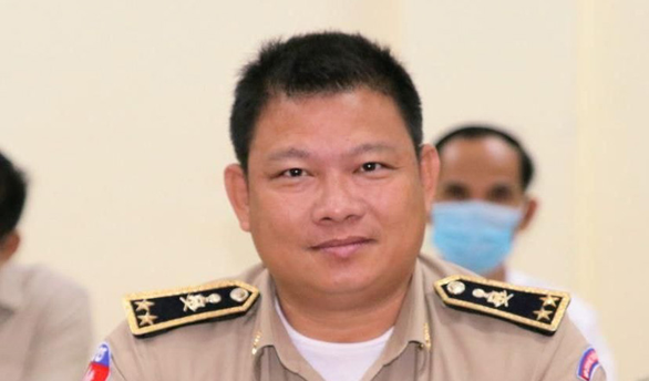 Tướng cảnh sát Campuchia bị tố ép cấp dưới biểu diễn sex tại chỗ làm - Ảnh 1.