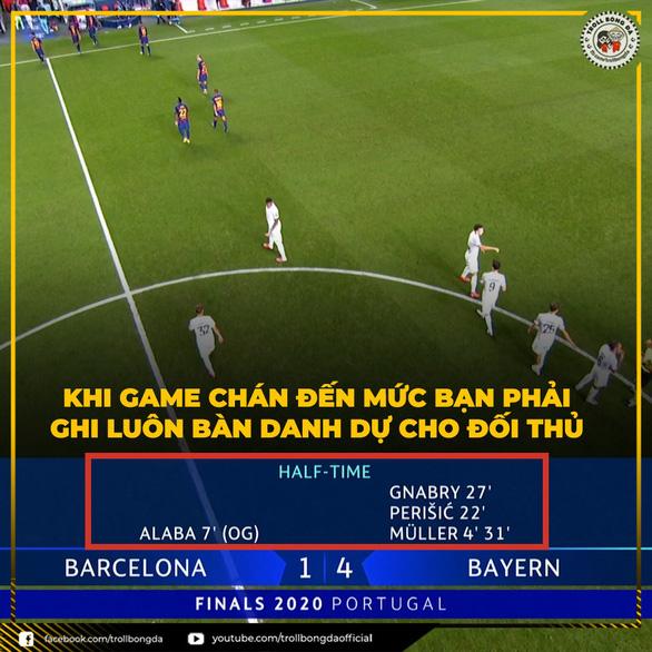 Dân mạng chế cảnh Messi viết thư chia tay mối tình đầu sau trận Barca thảm bại 2-8 - Ảnh 5.