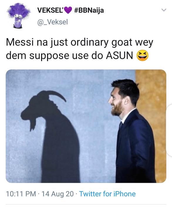Dân mạng chế cảnh Messi viết thư chia tay mối tình đầu sau trận Barca thảm bại 2-8 - Ảnh 2.
