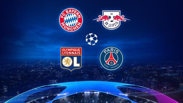 Pháp - Đức đại chiến ở bán kết Champions League - Ảnh 1.