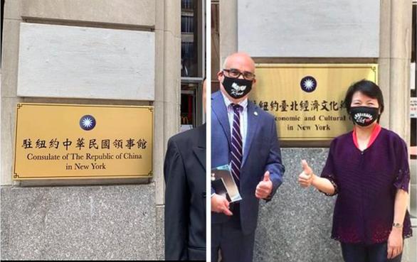 Thực hư bảng lãnh sự quán Đài Loan tại New York - Ảnh 1.