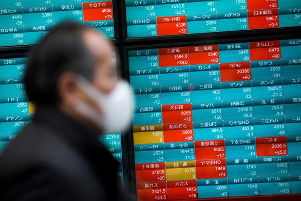 Chứng khoán châu Á, Thái Bình Dương ảm đạm, kinh tế Nhật dự báo giảm 27,8% - Ảnh 1.
