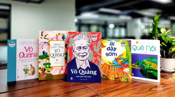 Ra mắt 5 tập sách của nhà văn Võ Quảng: Người dành trọn tâm huyết cho thiếu nhi - Ảnh 1.