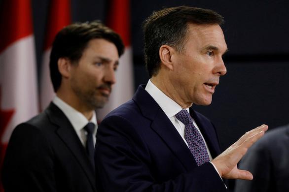 Canada thâm hụt ngân sách 250 tỉ USD, bộ trưởng tài chính từ chức - Ảnh 1.