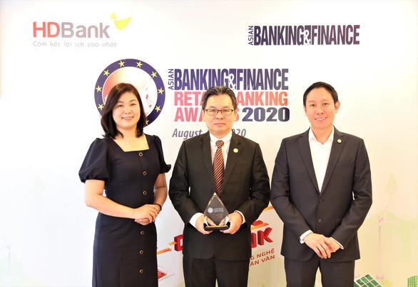 HDBank nhận giải 'Ngân hàng bán lẻ nội địa tốt nhất 2020' - Ảnh 1.