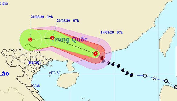 Bão số 4 vào đất liền Trung Quốc, miền Bắc nhiều nơi mưa lớn, nguy cơ lũ quét - Ảnh 1.