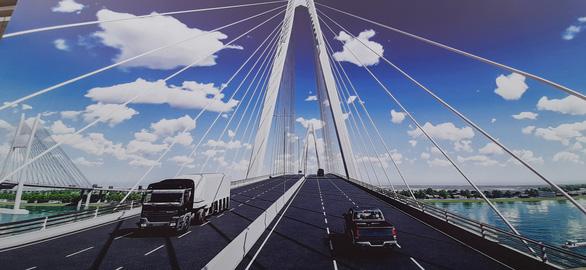 Triển khai thi công cầu Mỹ Thuận 2 phía bờ Vĩnh Long - Ảnh 2.